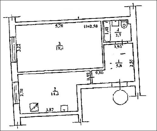 Житлове приміщення (квартира), площею 38,2 кв. м., що розташована за адресою: м. Одеса, вул. Бугаївська, 46-а,  та основні засоби у кількості 103 од, які знаходяться за адресою: м. Київ, бульвар Тараса Шевченка, 35.